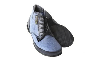 Tadeevo denim blue Autumn minimalist shoes