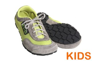 Tadeevo kids minimalist shoes lime green