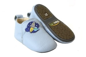 Tadeevo toddler minimalist blue shoes