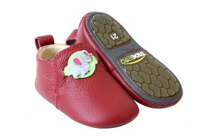 Tadeevo toddler minimalist red shoes