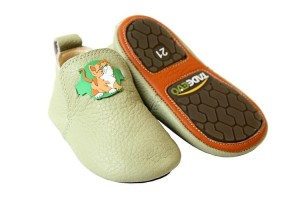 Tadeevo toddler minimalist lime shoes
