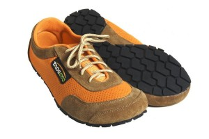 Tadeevo savanna orange minimalist shoes