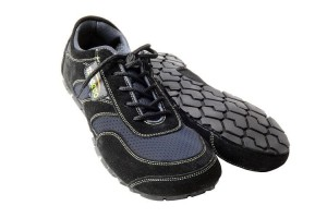Tadeevo graphite black minimalist shoes