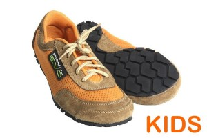 Tadeevo kids minimalist shoes savanna orange