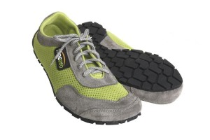 Tadeevo lime green minimalist shoes
