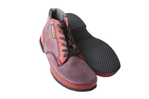 Tadeevo denim red Autumn minimalist shoes