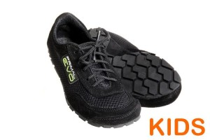 Tadeevo kids minimalist shoes cosmic black