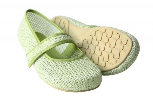 Tadeevo green mesh pumps a.jpg