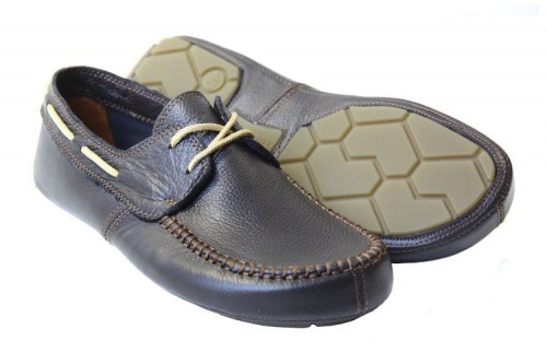 Tadeevo dark brown minimalist boat shoes a.JPG
