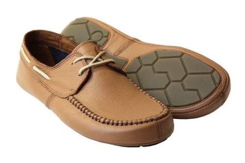 Tadeevo sandy brown minimalist boat shoes a.JPG