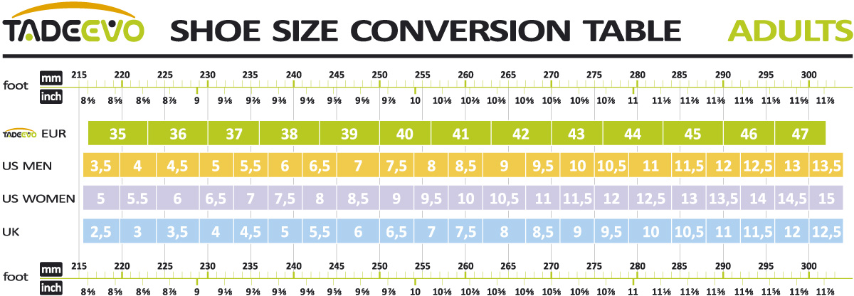 Kid Shoe Size Conversion To Adult