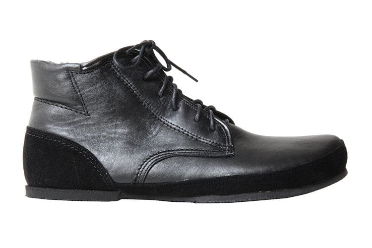 All Black Minimalist Shoes